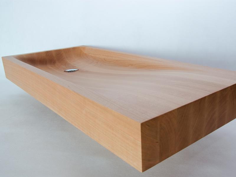 - Wooden sink and bathtub - wooden basin washbasin wooden sinks ...